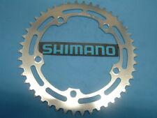 Shimano 46T Bmx / Fixie Plata Chainring- Nuevo / Nos Vintage W-Cut- 130BCD