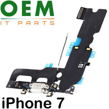 For iPhone 7 Charging Port Flex Cable Dock Connector Microphone White New