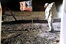 APOLLO 11 MOON LANDING PICTURE PHOTO NASA Genuine Kodak Ektachrome EF film 1969