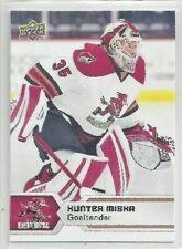 2017-18 Upper Deck AHL #34 Hunter Miska (goalie)