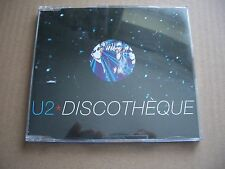 U2 - DISCOTHEQUE - REMIXES CD SINGLE IN A JEWEL CASE - BONO