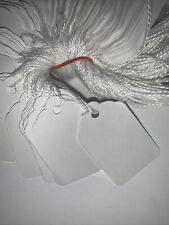 Merchandise Tags With Strings White 5 1 34 X 1 18 100 Tag