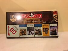 Monopoly Pirates of the Caribbean Trilogy Edition 2007 Disney Board Game Sealed