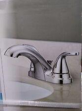 Moen Bathroom Chrome Centerset Faucets with 2 Handles   eBay