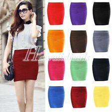Cotton Blend A-Line Skirts for Women