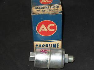 NOS AC Gasoline Filter GF70 5650196 for 1960 Ford Thunderbird