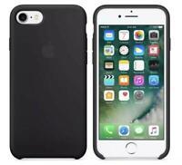 Genuine Apple iPhone 8 Plus / 7 Plus Silicone Case / Cover - Black - MQGW2ZM/A