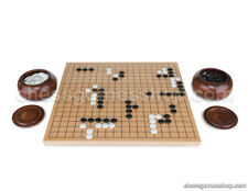 Go tournament set 21 mm - professional go board, stones and 2 bowls