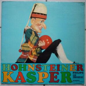 Hörspiel LP: Hohnsteiner Kasper. PHILIPS Club Sonderauflage, Stereo 77383