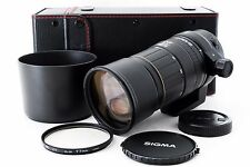 Sigma APO 135-400mm f/4.5-5.6 for Canon W/Case, Hood [Excellent++] From Japan