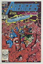 Avengers #305 1989 Lava Men John Byrne Begins Paul Ryan Marvel H-