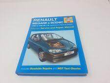RENAULT MEGANE & SCENIC HAYNES MANUAL 1996 TO 1998 (N to R reg) PETROL & DIESEL