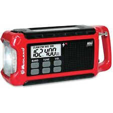 Midland ER210 E+Ready Compact Emergency Crank Weather Alert Radio