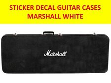 MARSHAL STICKER GUITAR CASES  WHITE VISIT OUR STORE WITH MANY MORE MODELS