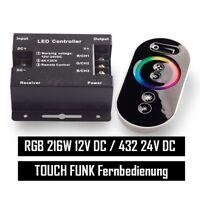 RGB LED Controller Touch Funkfernbedienung bis 18A