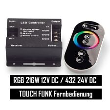 RGB LED Controller Touch control remoto hasta 18a
