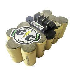 RIDGID 18 Volt 130254003 Battery Replacement Internals Tenergy 2.2Ah NiCd