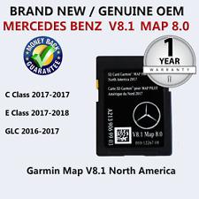 2018  MAPS Mercedes-Benz SD Card GPS Navigation 2015 - 17 C300 Garmin Map Pilot