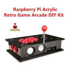 Raspberry Pi 3 Model B Case 16G One Player Joystick Arcade Game Console DIY Kit