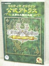 Ultima Online Official Atlas Guide Book Eb98*