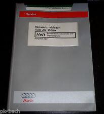 Werkstatthandbuch Audi A6 C5 Automatik Getriebe 01V Eigendiagnose ab 1998