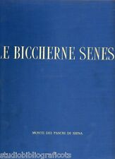 Morandi U.; LE BICCHERNE SENESI le tavolette della biccherna... Monte dei Paschi