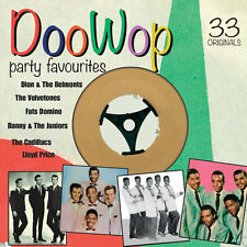 Doo Wop Party Hits BRAND NEW SEALED 2 CD SET * 33 ORIGINALS * VINTAGE 50's