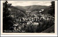 Sitzendorf Thüringen DDR Ansichtskarte Postkarte ~1959 Gesamtansicht ungelaufen