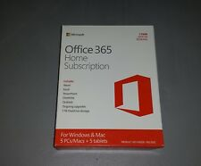 Microsoft Office 365 Home Subscription 1 Year / 5 User Pack
