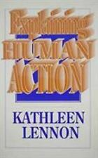 EXPLAINING HUMAN ACTION - NEW HARDCOVER BOOK
