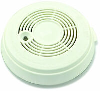 White Smoke Detector Fire Alarm with New Quick Response Photoelectric Technology