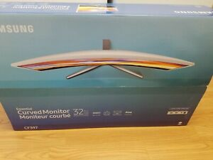 "SAMSUNG 32"" CURVED MONITOR CF397"