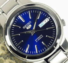 ☀ SEIKO 5 SNKA05K1 Automatic Sports Divers Blue Steel Analog Men's Watch Japan ☀