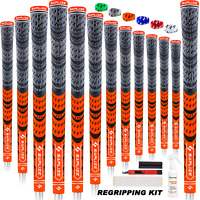 Golf Grips 13 with Full Regripping Kit Multi Compound Golf Club Grips MIDSIZE