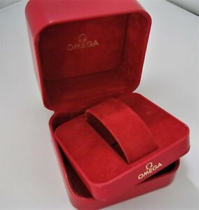 Genuine Vintage 80's Mans Omega Presentation Watch Box Good Condition No Reserve