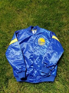 Golden State Warriors Starter Jacket Size XL - Quilted Inside Lining