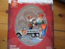 HOME DEPOT HOMER LOADING TRUCK HANDYMAN DAD CHRISTMAS HOLIDAY ORNAMENT. NEW!