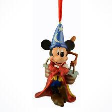 Disney Parks Sorcerer Mickey Mouse Glitter mop & bucket Ornament Christmas