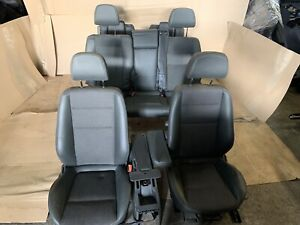 Opel Zafira B 7 Sitzer Teilleder Ausstattung Sportausstattung schwarz grau