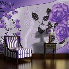 lila tapeten ebay. Black Bedroom Furniture Sets. Home Design Ideas
