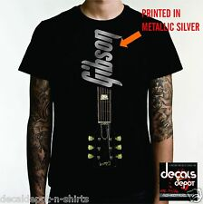 Custom Shirt for GUITARIST plays Gibson Les Paul SG Standard ES Traditonal etc.