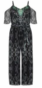 City Chic Morocco Jumpsuit LUXE LIMITED EDITION Jumpsuit Women's Size M / 18