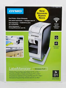 Dymo LabelManager Wireless Plug N Play Label Maker PC or Mac 1812631