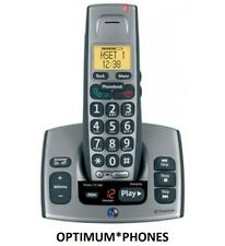 BT FREESTYLE 750 DIGITAL CORDLESS TELEPHONE IN GREY / TITANIUM