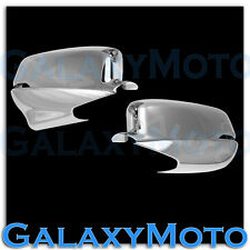 11-15 Honda Crosstour Chrome Mirror Cover With Turn Signal & Backup Camera Pair