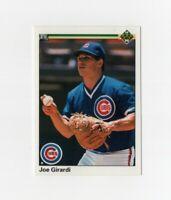 1990 Upper Deck Joe Girardi Rookie Baseball Card #304 Chicago Cubs