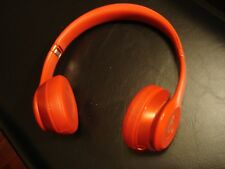 Very Nice Beats by Dr. Dre Solo 2 Solo2 Wired Headband Headphones - Red