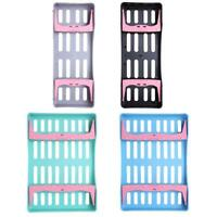 Dental Plastic Sterilization Rack Tray Surgical Box Instrument Disinfection Tool