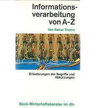 Informatikbücher über Informationsmanagement