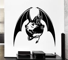 Wall Decal Dragon Planet Earth Capture Wings Monster Vinyl Stickers (ed138)